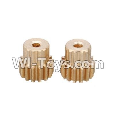 Wltoys L979 L222 Car Parts-Motor Gear 14T Parts-2pcs,Wltoys L979 L222 Parts