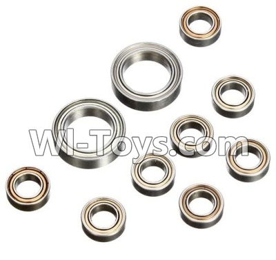 Wltoys L979 L222 Car Parts-Whole Car Axle(total 10pcs),Wltoys L979 L222 Parts