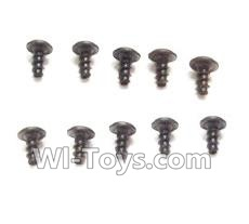 Wltoys L979 L222 RC Car Screws Parts-Round Head Screws Parts-PWA 2.6x4mm Screw(10pcs),Wltoys L979 L222 Parts