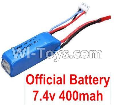 Wltoys P929 Car Parts-Battery-Official WLtoys 7.4V 400mAh Battery,Wltoys P929 Parts