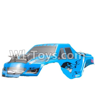 Wltoys P929 Car Parts-Body Shell cover Parts-Blue,Wltoys P929 Parts