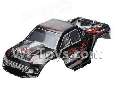 Wltoys P929 Car Parts-Body Shell cover Parts-Black,Wltoys P929 Parts