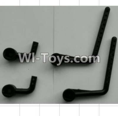 Wltoys P959 RC Car Parts-Support Column for the Car canopy Parts-(2pcs),Wltoys P929 Parts