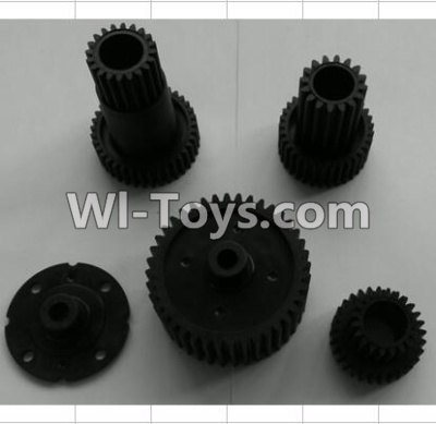Wltoys P959 RC Car Parts-Transmission gears,Wltoys P929 Parts