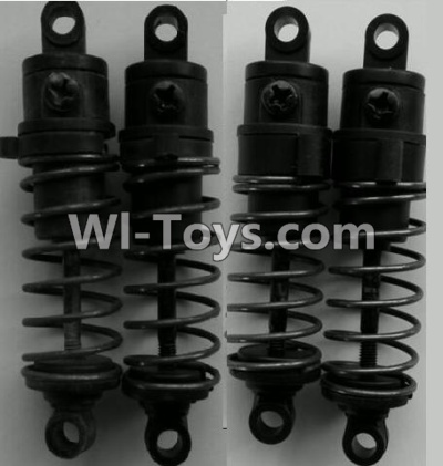 Wltoys P959 RC Car Parts-Front and Rear Shock Absorber Parts-(Total 4pcs),Wltoys P929 Parts