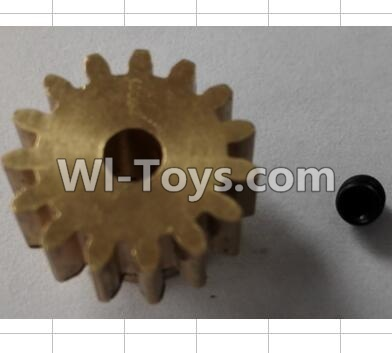 Wltoys P959 RC Car Parts-15T Motor gear set,Wltoys P929 Parts