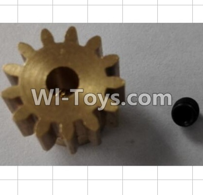 Wltoys P959 RC Car Parts-13T Motor gear set,Wltoys P929 Parts