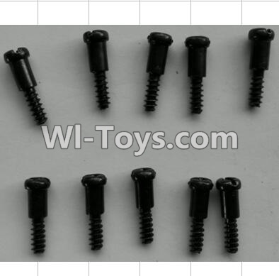 Wltoys P959 RC Car Parts-Step Head self-tapping Screws(10pcs)-M3X14,Wltoys P929 Parts