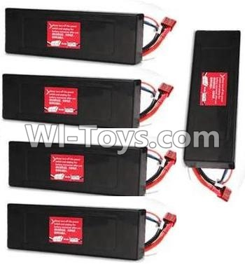 Wltoys P959 RC Car Parts-7.4v 2500mah Battery Parts-(5pcs),Wltoys P929 Parts