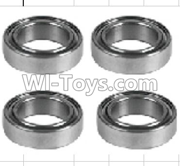 Wltoys P959 RC Car Parts-K939-52 Roller bearings 10X15X4mm-(4pcs),Wltoys P929 Parts