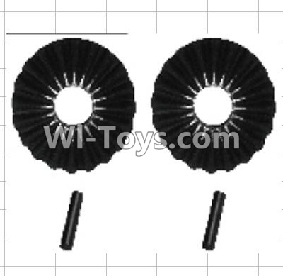 Wltoys P959 RC Car Parts-K949-44 Reduction gear with shaft Parts-(2pcs),Wltoys P929 Parts