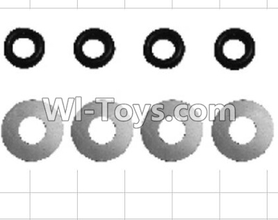 Wltoys P959 RC Car Parts-K949-70 Flat washer Parts-(8pcs),Wltoys P929 Parts