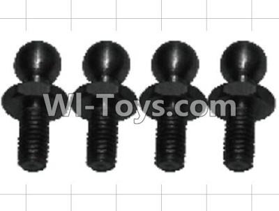 Wltoys P959 RC Car Parts-K949-73 4.8 Ball head screws Parts-(4pcs),Wltoys P929 Parts