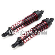Hosim S912 Parts Rear Shock Absorber(2pcs)-ZJ03,Hosim S912 RC Car Parts RC Monster Truck Spare parts