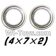 Hosim S912 Parts Bearing-4x7x2mm-2PCS-WJ08,Hosim S912 RC Car Parts RC Monster Truck Spare parts