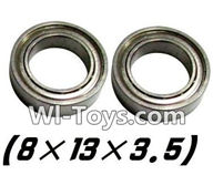 Hosim S912 Parts Bearing-8x13x3.5mm-2PCS-WJ10,Hosim S912 RC Car Parts RC Monster Truck Spare parts