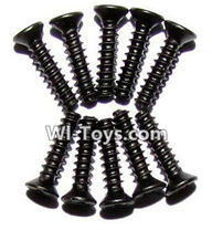 GPToys 9116 Parts screws-Countersunk head screws(M2.3x10)-10PCS-LS05,GPToys 9116 RC Car Parts