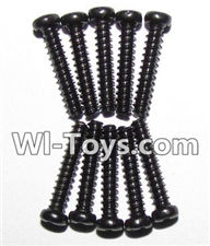 GPToys 9116 Parts screws-Round head screws(M2.3x12)-10PCS-LS07,GPToys 9116 1:12 RC Car Parts