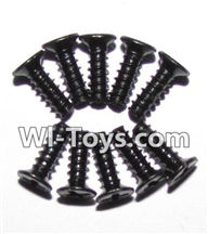 GPToys 9116 Parts screws-Round head screws(M2.6x7)-10PCS-LS09,GPToys 9116 RC Car Parts