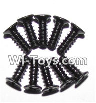 GPToys 9116 Parts screws-Round head screws(M2.6x8)-10PCS-LS10,GPToys 9116 RC Car Parts