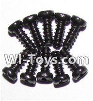 GPToys 9116 Parts screws-Round head screws(M2.3x6)-10pcs