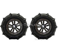 XinLeHong Toys 9135 Parts Anti-sand RC Wheel Tires-85mm-2 set-QZJ02,XinleHong 9135 RC Car Parts