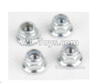XinLeHong Toys 9135 Parts Anti loose nut(4pcs)-WJ08,XinleHong 9135 RC Car Parts