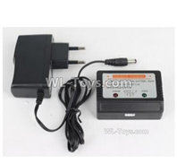 XinLeHong Toys 9135 Parts DJ03 Official Charger and Balance charger,XinleHong 9135 RC Car Parts