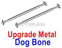 XinLeHong Toys 9135 Parts Upgrade Metal Drive shaft,Dog Bone(2pcs)-QWJ03,XinleHong 9135 RC Car Parts