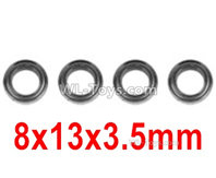 XinLeHong Toys 9135 Parts Bearing(4pcs)-8X13X3.5mm-WJ10,XinleHong 9135 RC Car Parts