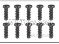 XinLeHong Toys 9135 Parts Round head screw(10pcs)-2.6X10PBHO-Q901-Q902-Q903-LS01,XinleHong 9135 RC Car Parts