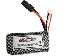 XinLeHong Toys 9145 Parts-Battery,7.4V 500MAH LIPO Battery-1pcs-45-DJ02,Brushless XinleHong 9145 1/20 RC Car Parts