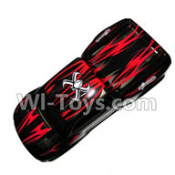 Foxx S911 Parts Body Shell cover,RC Car Canopy,Shell cover-Red-SJ01,Foxx S911 RC Car Parts