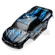 GPToys 9115 Parts Body Shell cover-Car canopy,Shell cover-Blue-SJ02,GP Toys 9115 RC Car Parts