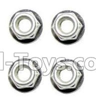 Foxx S911 Parts Anti-loose Screw nut(4pcs) Parts-WJ02,Foxx S911 RC Car Parts