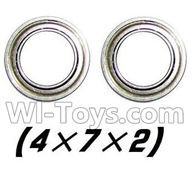 Foxx S911 Parts Bearing-4x7x2mm-2PCS-WJ08,Foxx S911 RC Car Parts