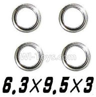 GPToys 9115 Parts Bearing-6.3x9.5x3mm-4PCS-WJ09,GP Toys 9115 RC Car Parts