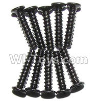 GPToys 9115 Parts screws-Countersunk head screws(M2x10)-10PCS-LS02,GP Toys 9115 RC Car Parts