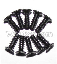 Foxx S911 Parts screws-Round head screws(M2.6x7)-10PCS-LS09,Foxx S911 RC Car Parts