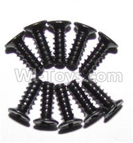 Foxx S911 Parts screws-Round head screws(M2.6x8)-10PCS-LS10,Foxx S911 RC Car Parts
