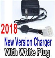 Foxx S911 Parts Charg-2018 New version Charger-US Converter Socket with 6-Wire White Plug Parts,Foxx S911 RC Car Parts
