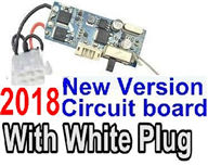 Foxx S911 Parts Receiver board-2018 New version Circuit board with 6-Wire White Plug Parts-,Foxx S911 RC Car Parts