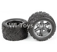 XinleHong Toys S913 9123 Parts-ZJ01 The Left and Right Wheel(Total 2pcs),XinleHong S913 9123 RC Car Parts