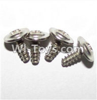 XinleHong Toys 9120 Parts LS15 Round head screws with meson(M3x8x8)-4PCS,XinleHong 9120 RC Car Parts