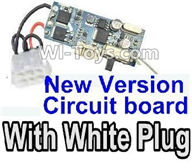 XinleHong Toys 9120 Parts New version Circuit board with White plug,XinleHong 9120 RC Car Parts
