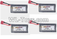 Hosim 9125 Parts Battery,Official 7.4V 1600mah battery(4pcs) Parts-DJ02,Hosim 9125 RC Car Parts