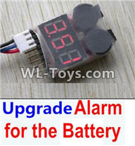 Hosim 9125 Parts Upgrade Alarm for the Battery,Can test whether your battery has enouth power Parts-,Hosim 9125 RC Car Parts