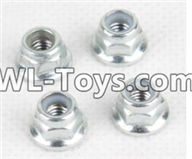 Hosim 9125 Parts Anti loose nut(4pcs) Parts-WJ02,Hosim 9125 RC Car Parts