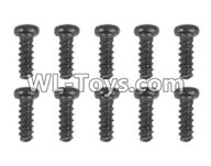 Hosim 9125 Parts screws-Pan head Cross recessed screws(10PCS)-2.6×7PBHO Parts-LS09,Hosim 9125 RC Car Parts