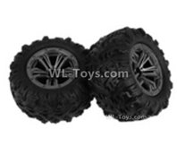 XinLeHong Toys Q903 Parts Whole wheel unit(2pcs)-QZJ02,XinleHong Q903 RC Car Parts